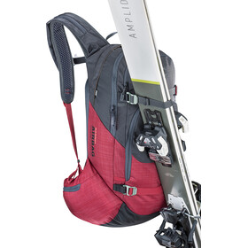 EVOC Line R.A.S. Backpack 20l heather carbon grey-heather ruby